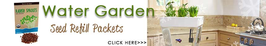 Water Garden Seed Packet Refills