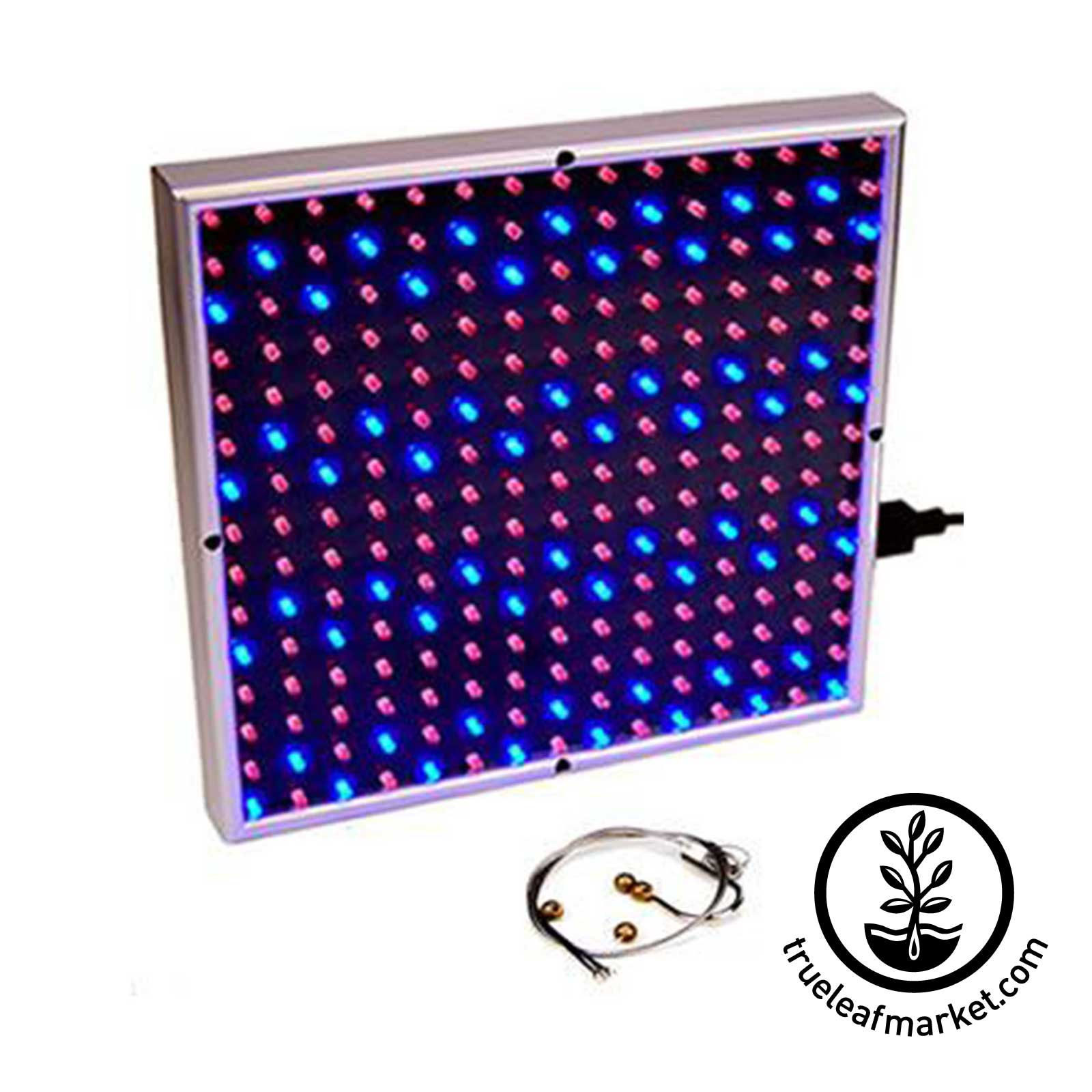 led grow light 14 watt panel plant growing lamp. Black Bedroom Furniture Sets. Home Design Ideas