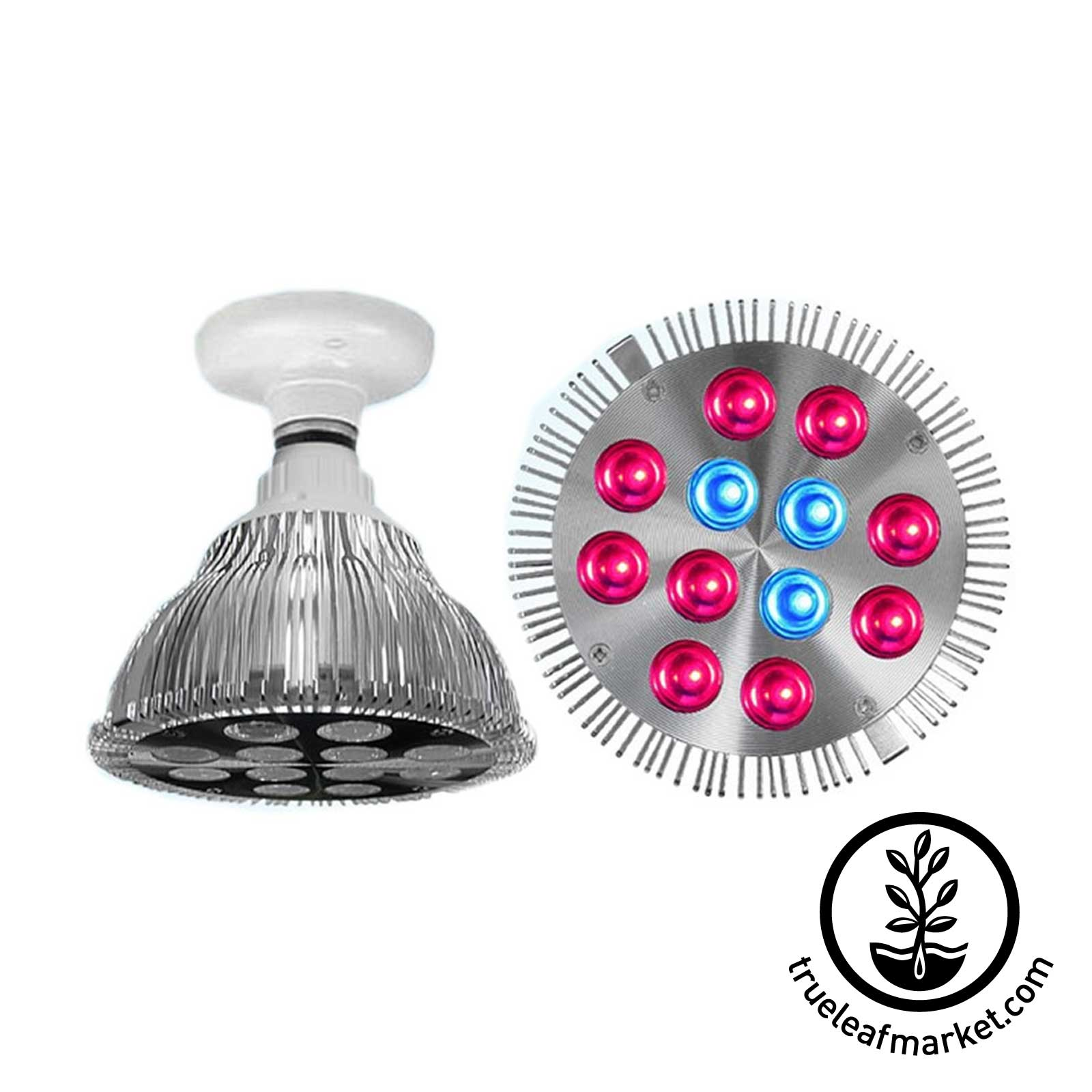 LED Grow Light 36 Watt Screw-in Bulb