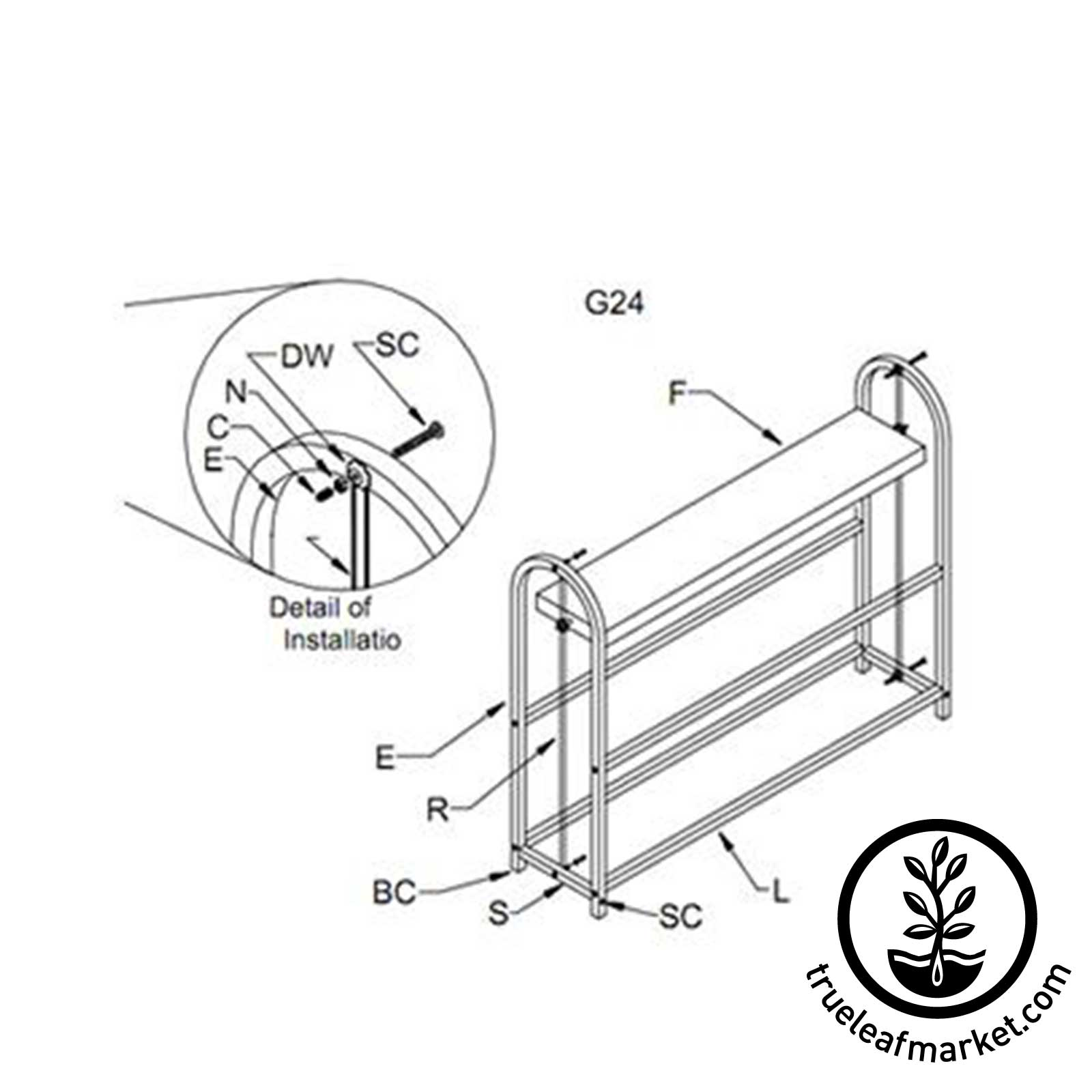 Easy Assembly of Growing Stand