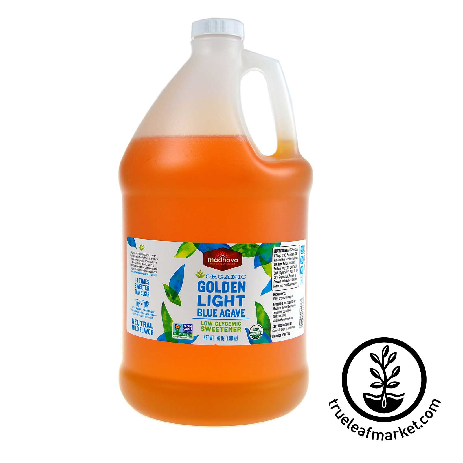 1 Gallon - Agave Nectar Light