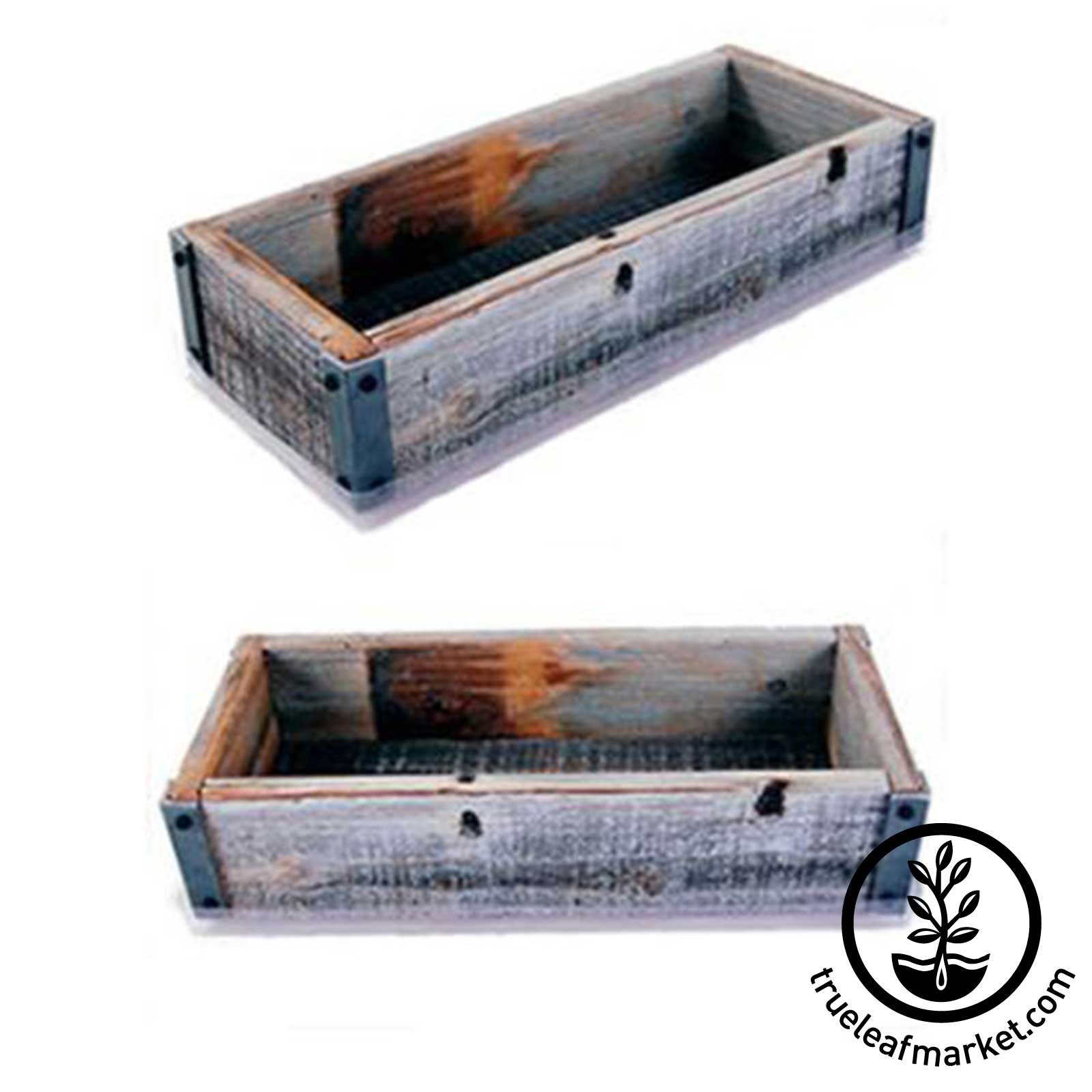 Barnwood Planter Box