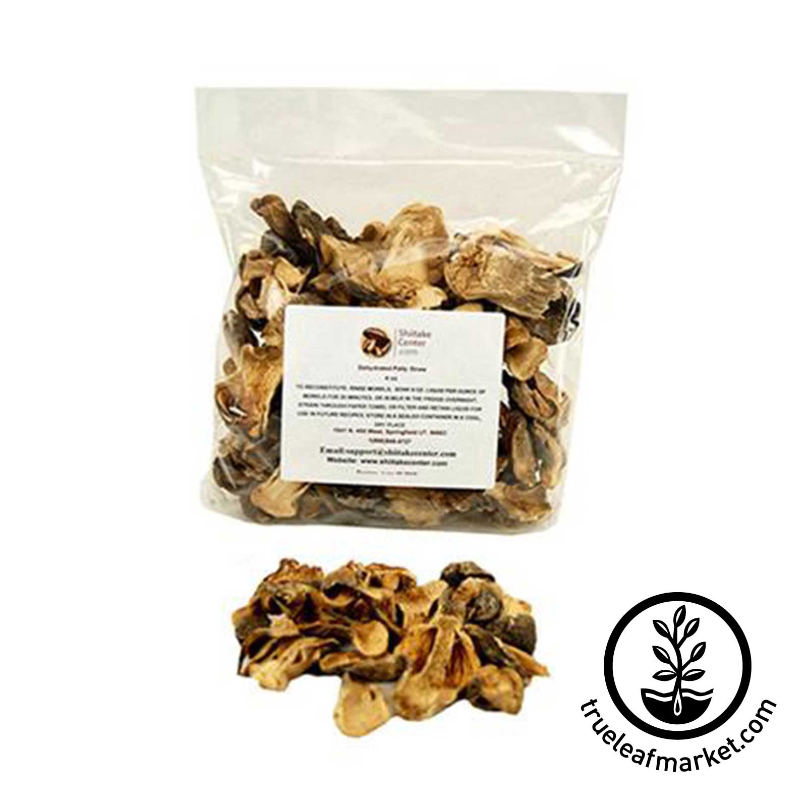 Dehydrated Paddy Straw Mushrooms