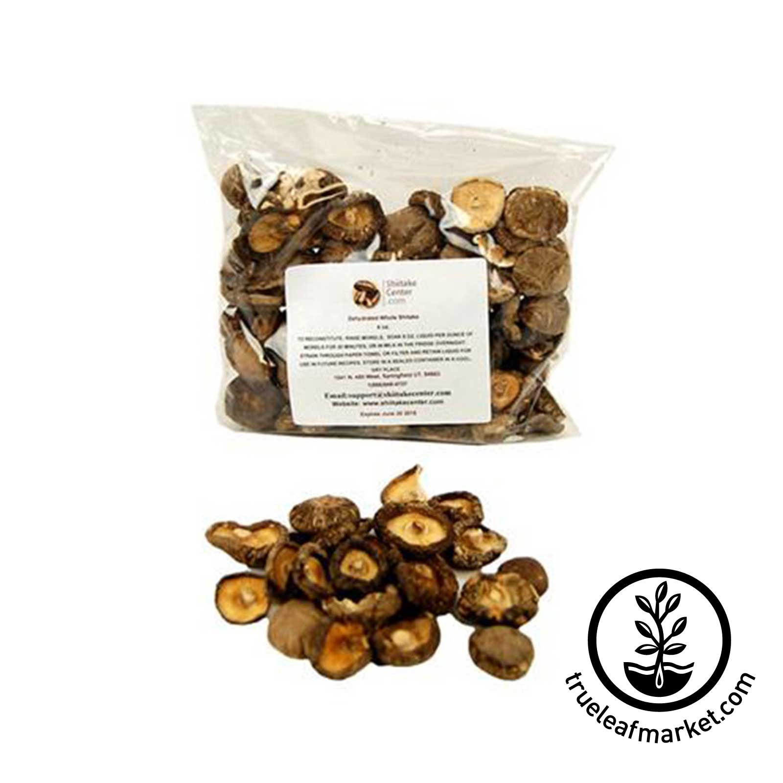 Whole Shiitake Mushrooms 4oz