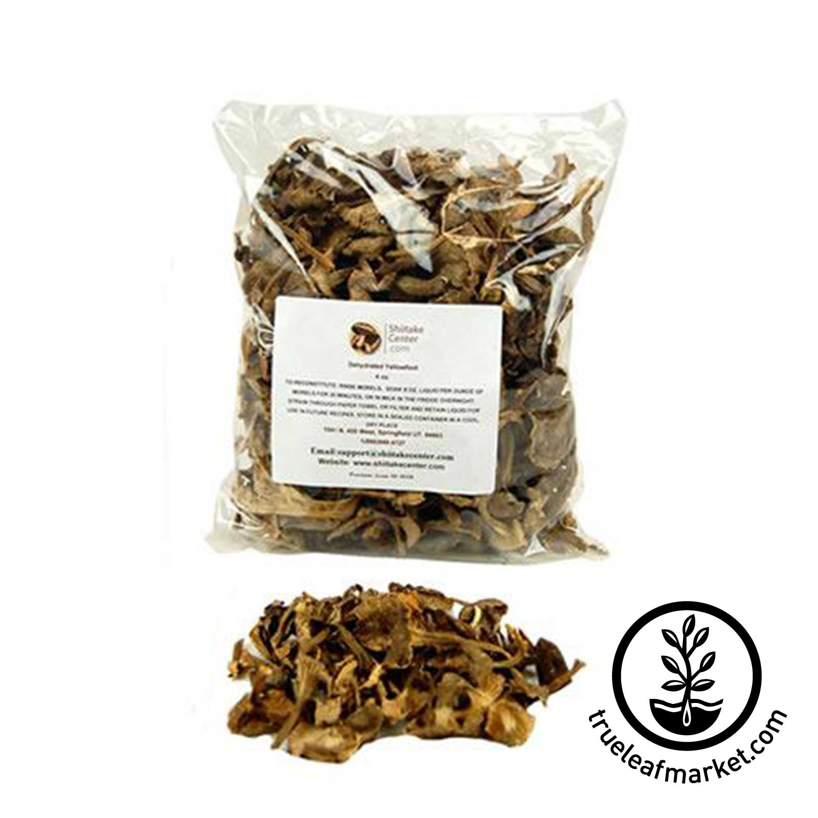 Yellowfoot Mushrooms 4oz