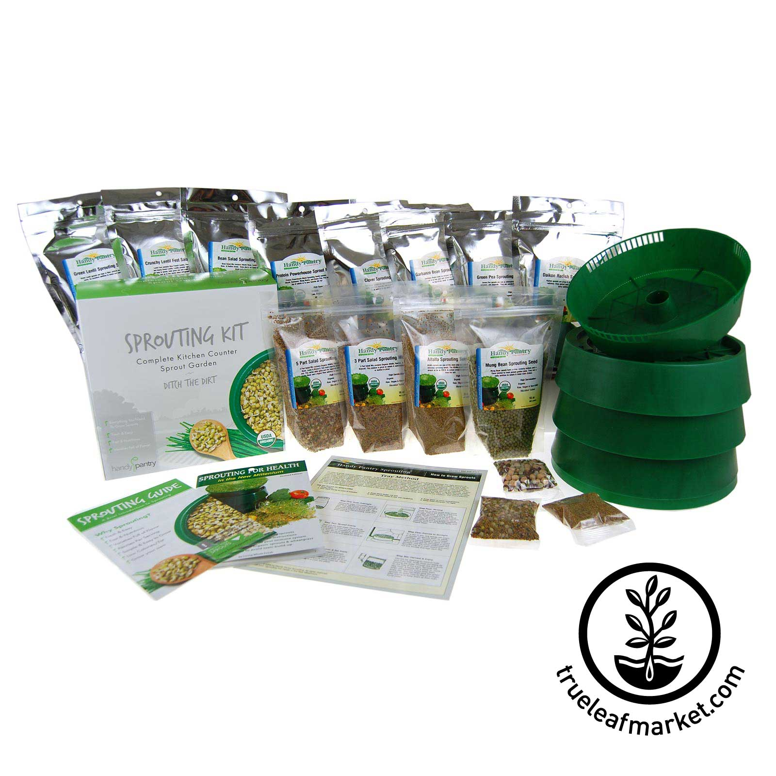 Deluxe Sprout Growing Kit