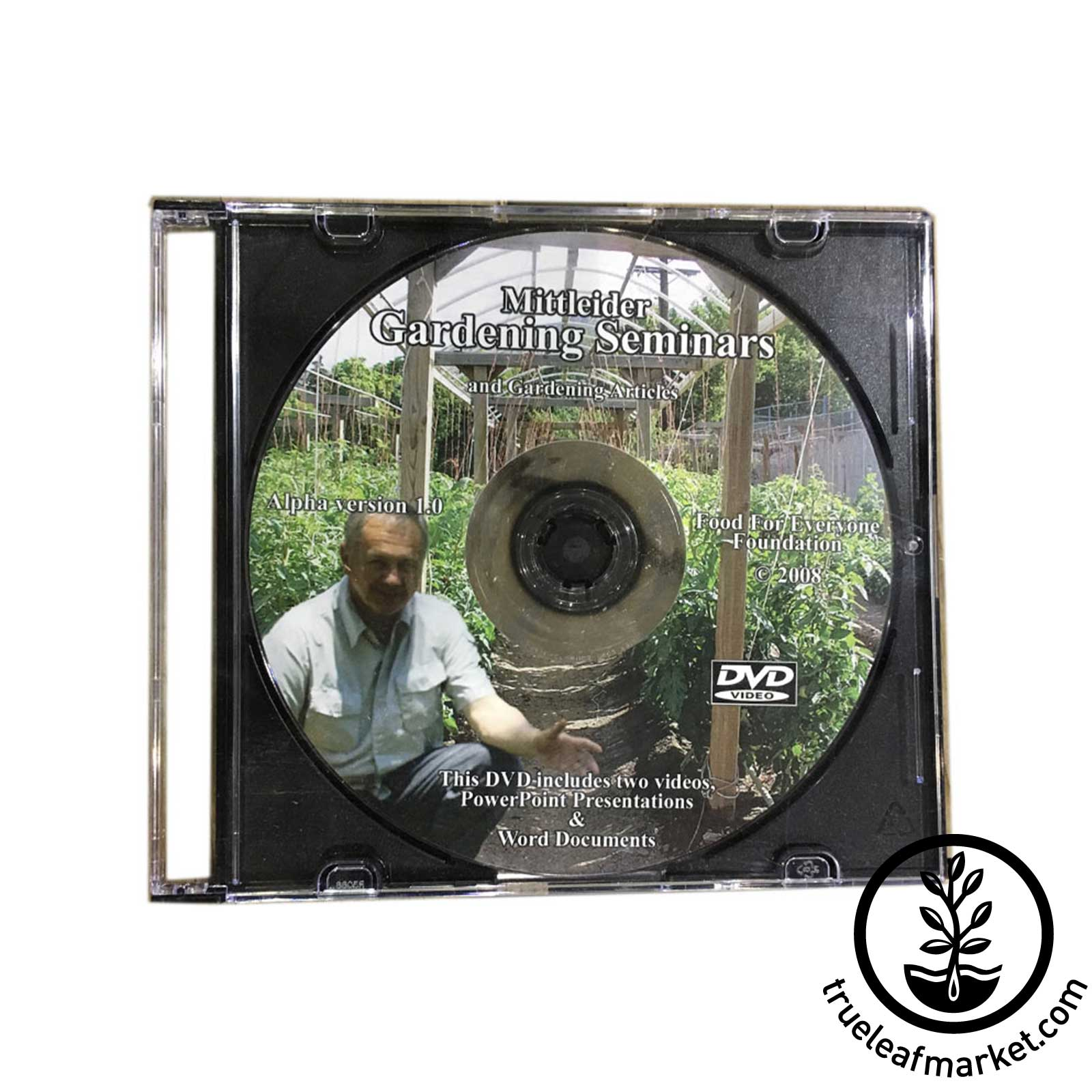 DVD: Mittleider Gardening Seminars and Gardening Articles