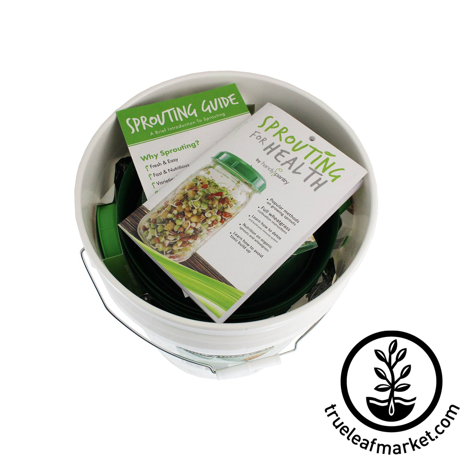 Food Storage Sprout Kit: Fully Packed