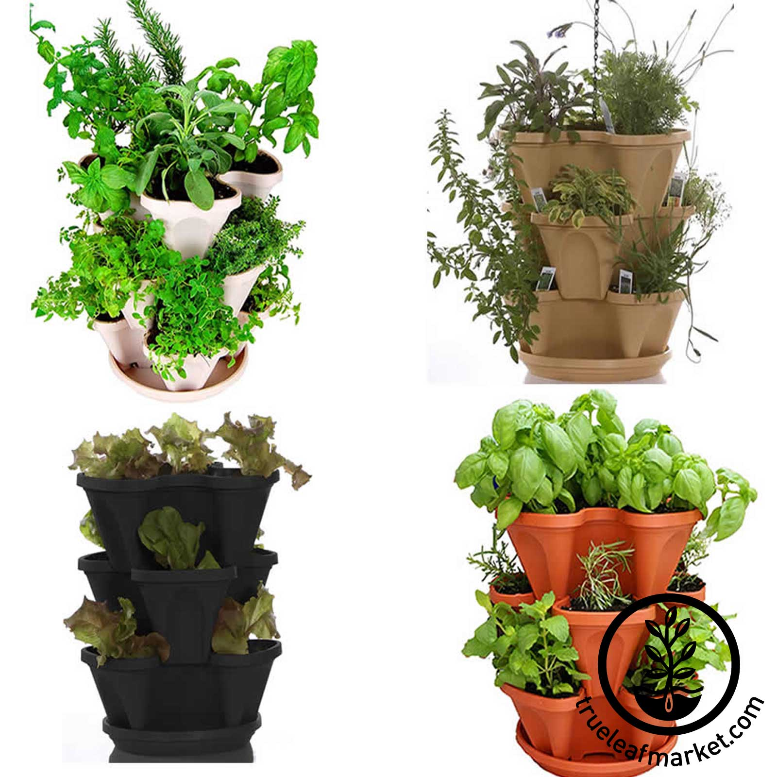 Herb Kits For Indoors: Stack & Grow Garden Planter