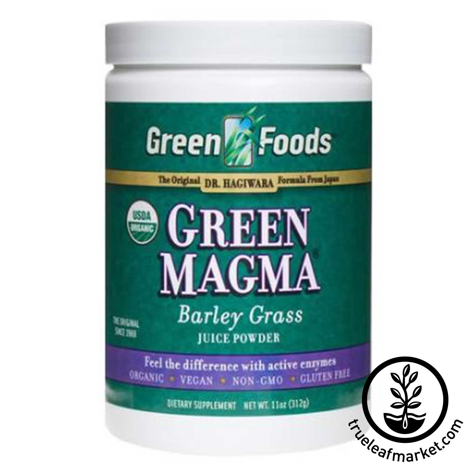 Green Foods - Green Magma - 11 Oz. - 52 Servings