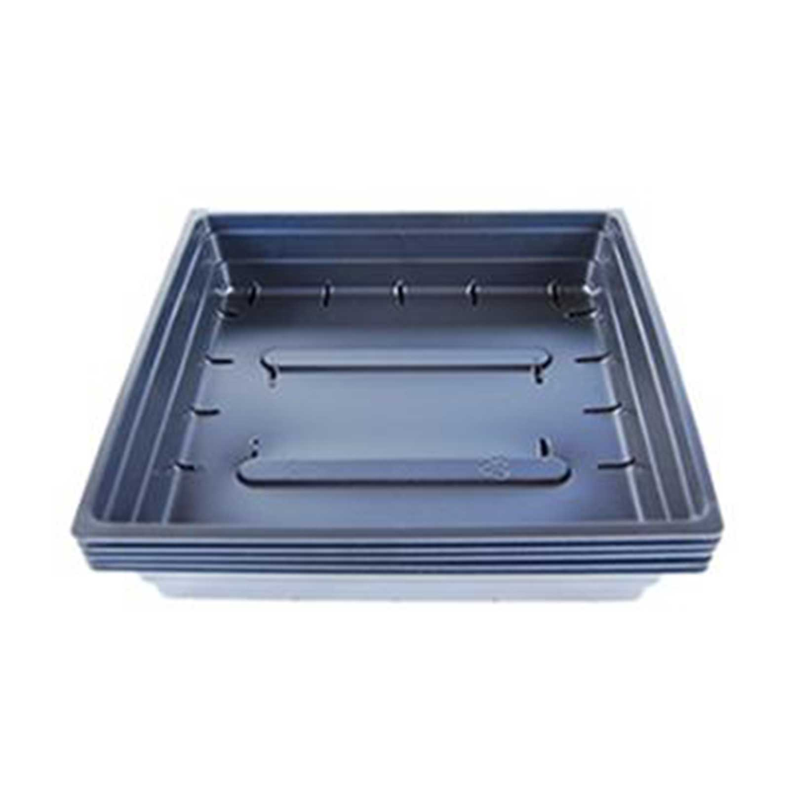 Growing Trays with Drain Holes: 10 x 10.  These growing trays work great for pet grass, or for smaller quantities of wheatgrass or barleygrass at a time. Also works well for growing microgreens and all purpose indoor / outdoor growing trays.