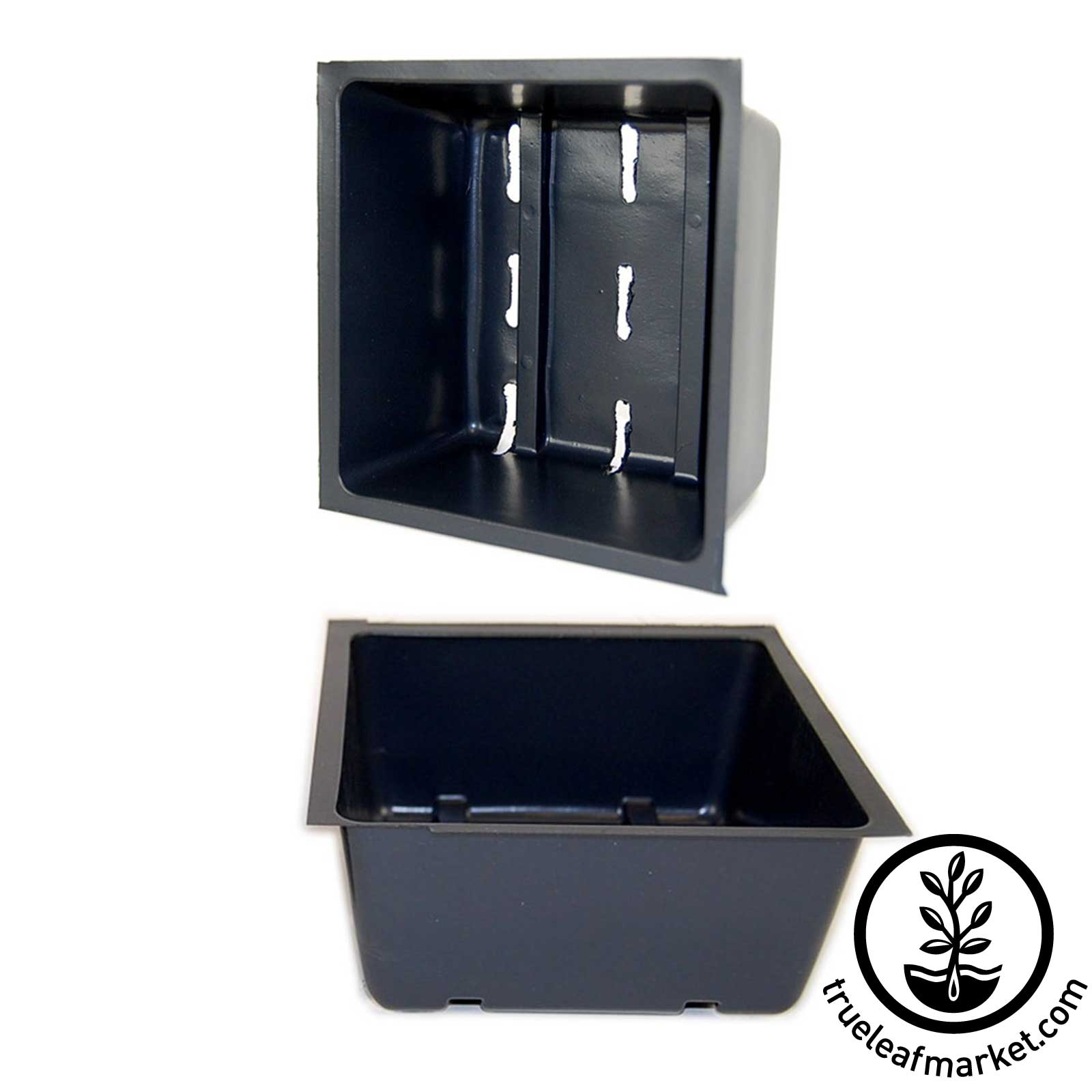 5 x 5 Inch Growing Tray Inserts with Drain Holes