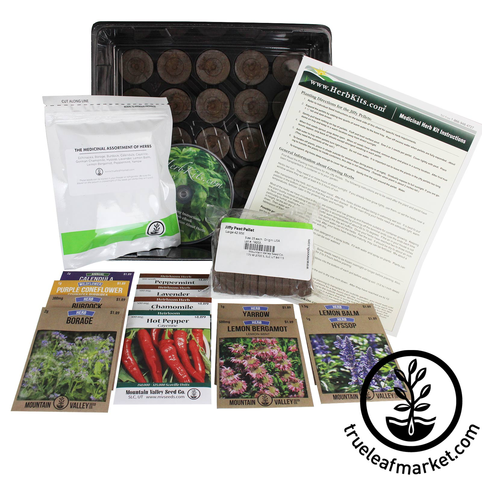 Indoor Medicinal Herb Garden Kit