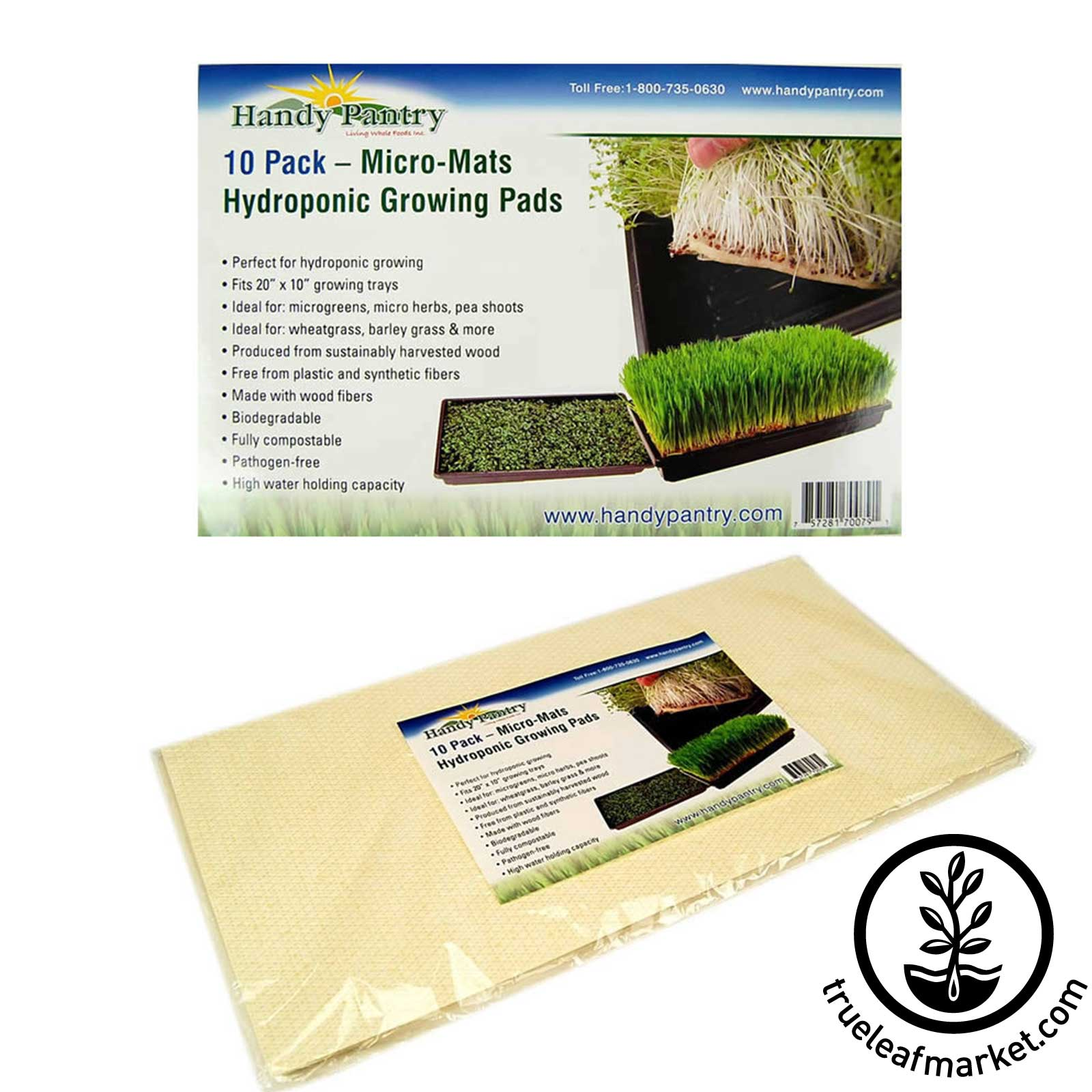 Micro Mat - Hydroponic Growing Pad - 10 Pack