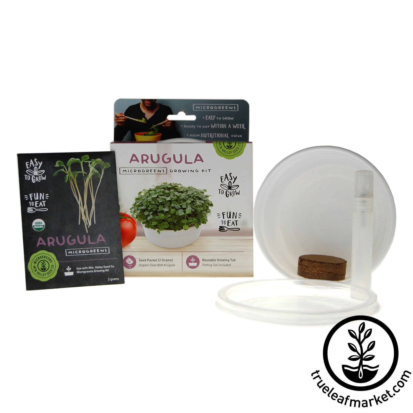 Arugula Mini Microgreens Growing Kit
