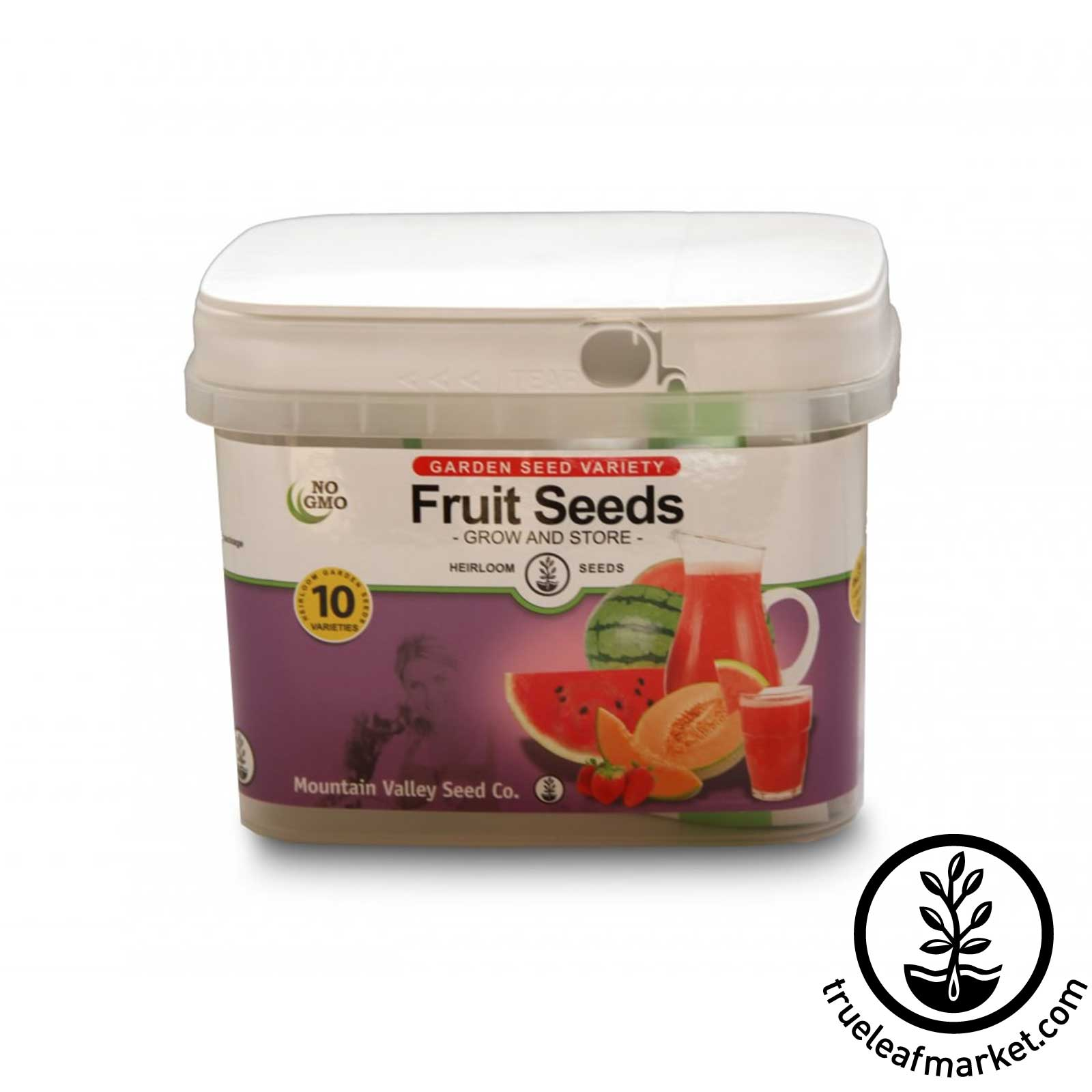 Fruit Seed Bucket From Mountain Valley