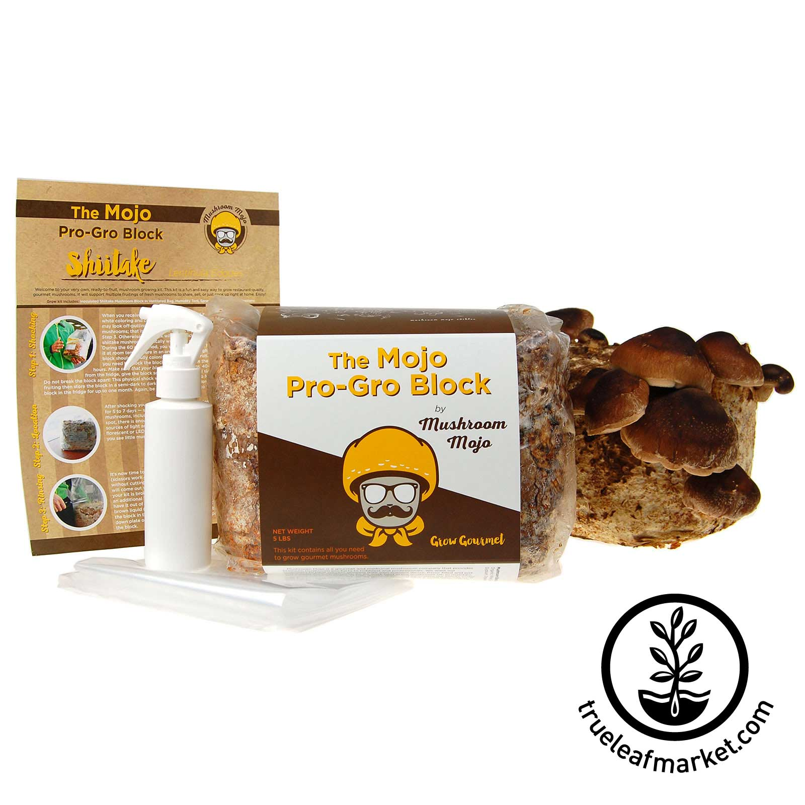 Shiitake Pro Gro Mushroom Growing Kit