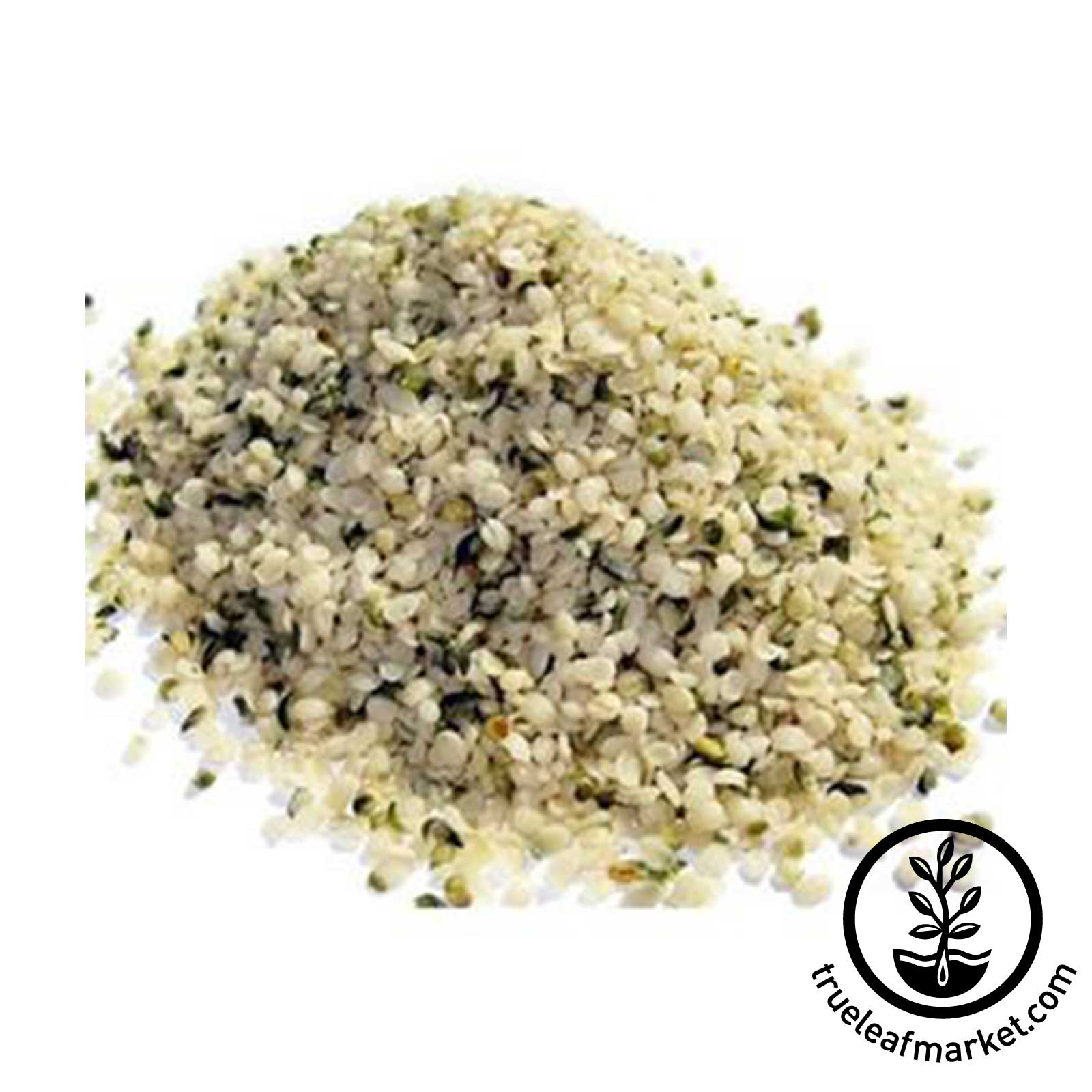 Hemp Seeds Closeup
