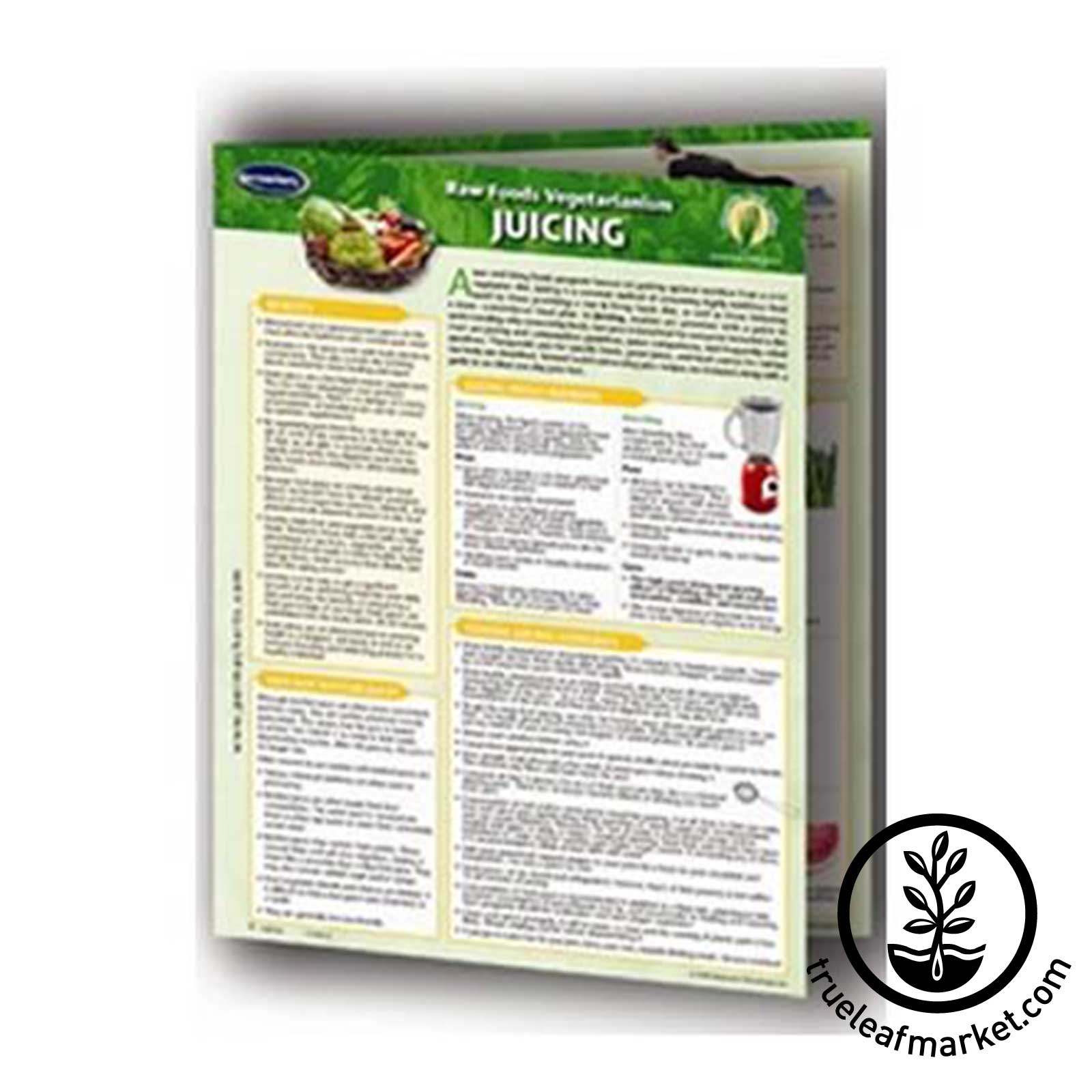 Permacharts: Raw Food Reference Card / Chart - Juicing raw foods,  juicing, chart, permachart