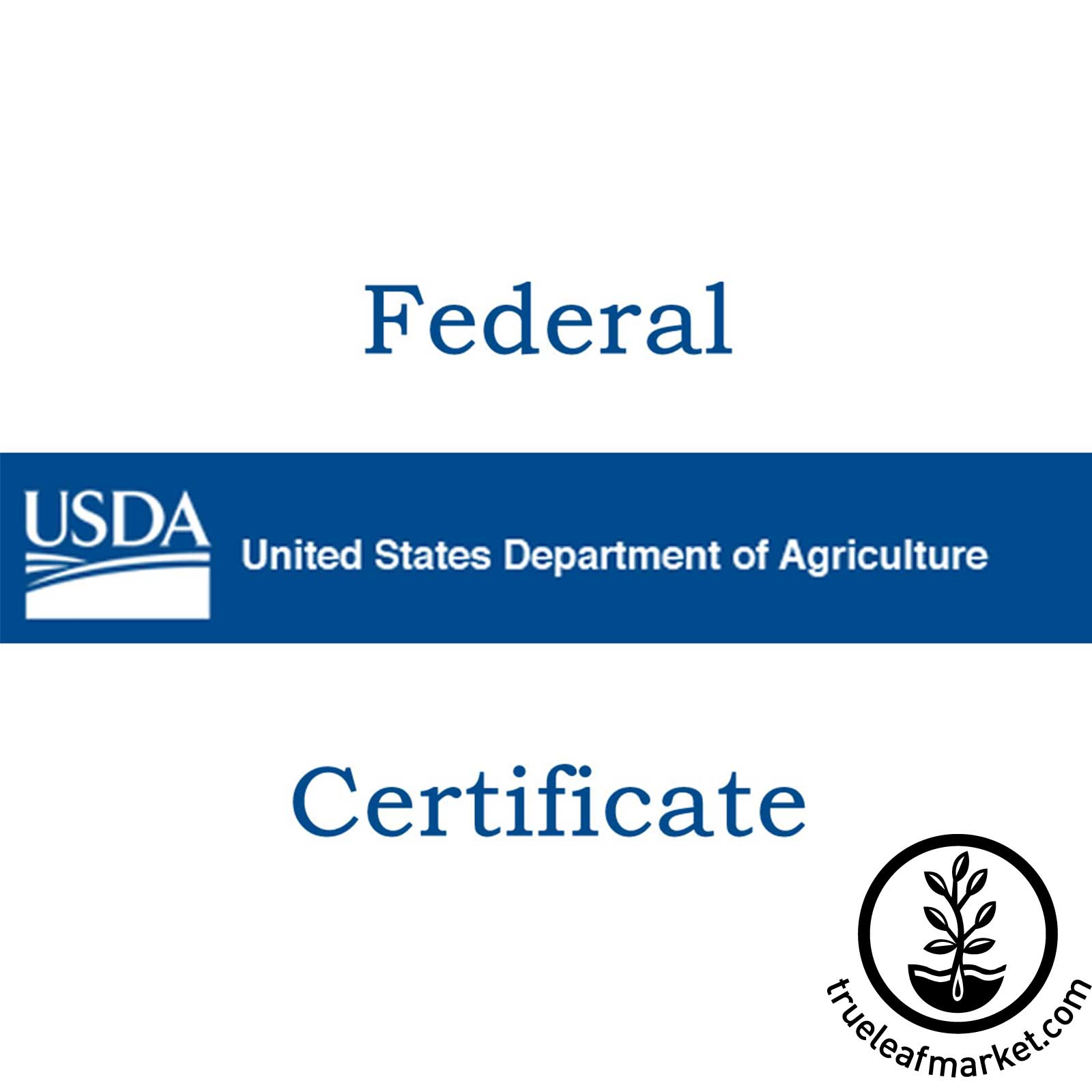 Federal Phytosanitary Certificate