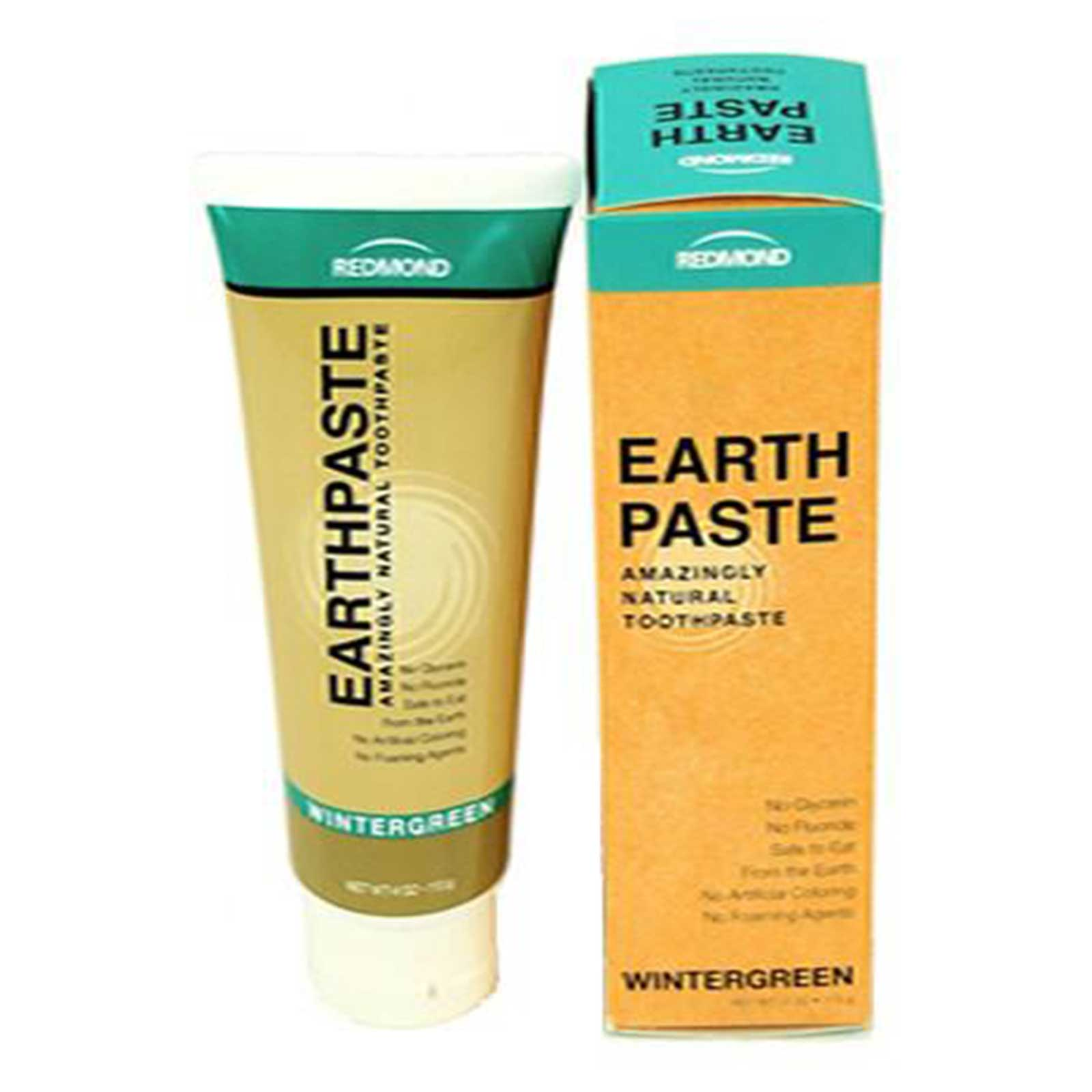 Earthpaste by Redmond - All Natural Toothpaste - 4 Oz- Wintergreen