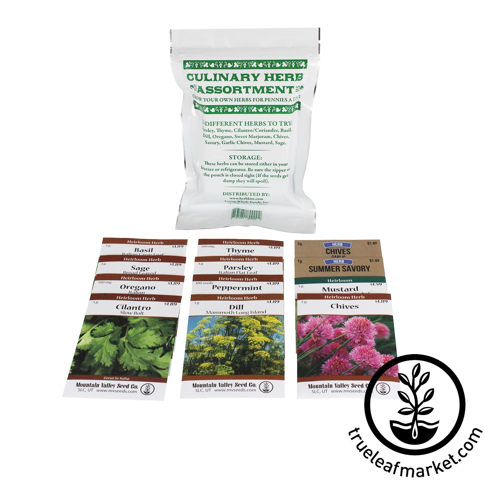 Culinary Herb Assorted Seed Pack