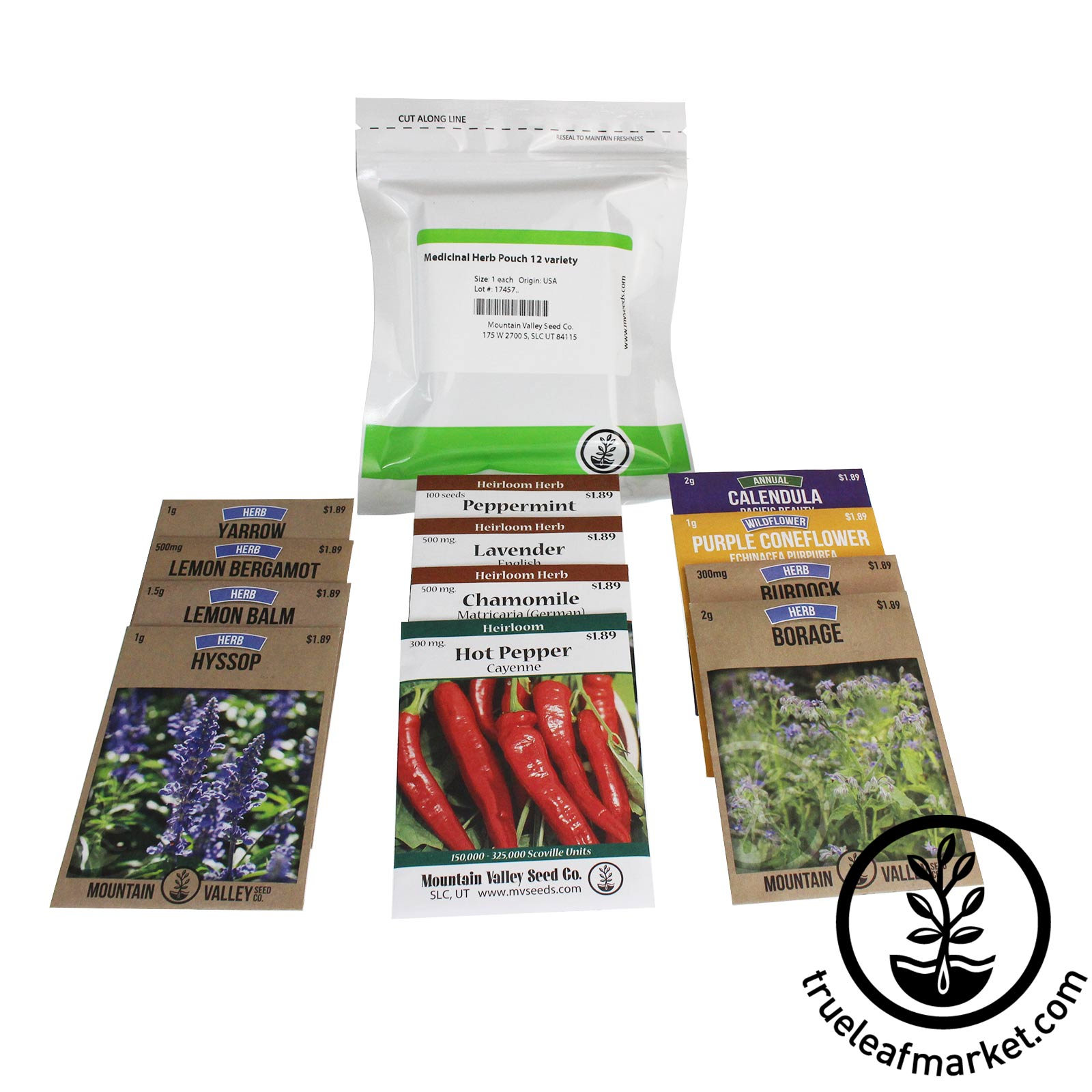 Medicinal Herb Seed Assortment