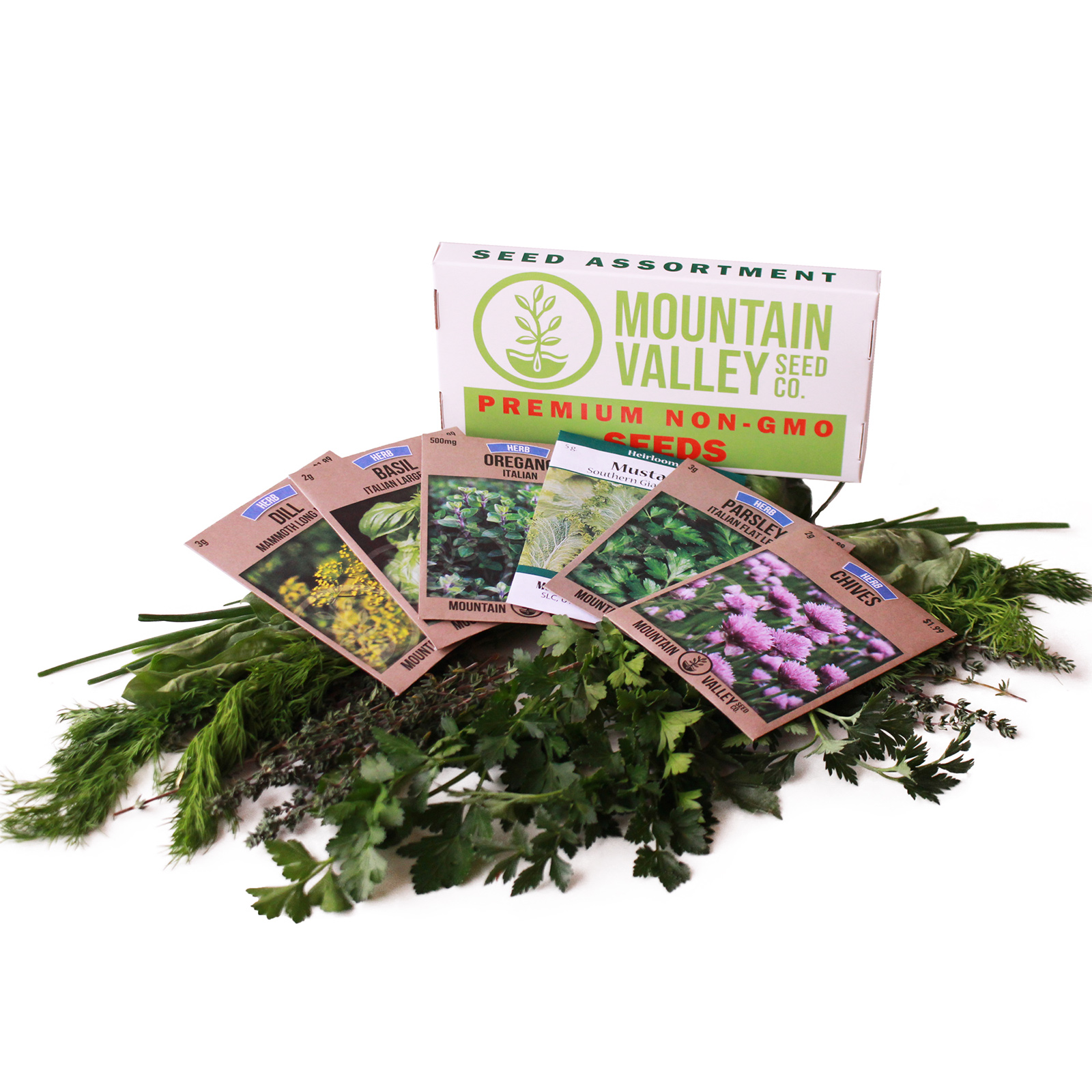 Kitchen Herb Gardens That Will Make Cooking Wonderful: Culinary Herb Seed Assortment
