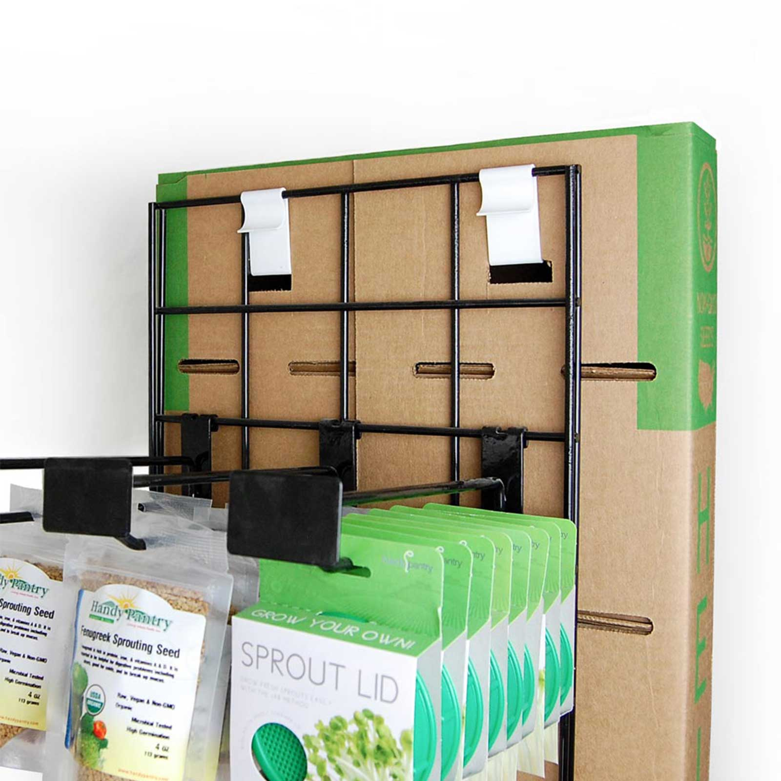 Snaps onto Existing Wholesale Display