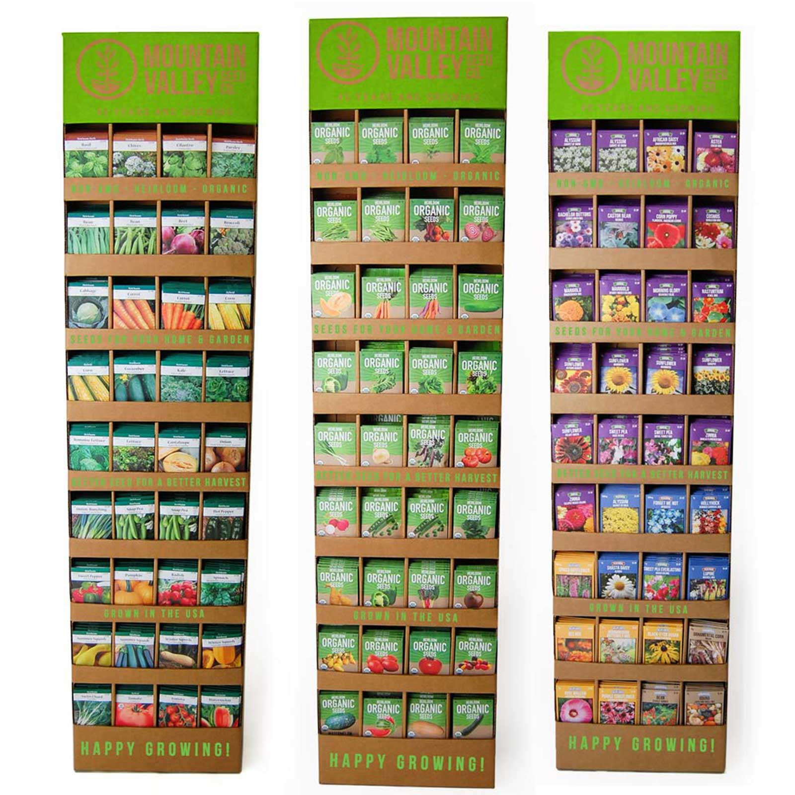 Seed Collection Display
