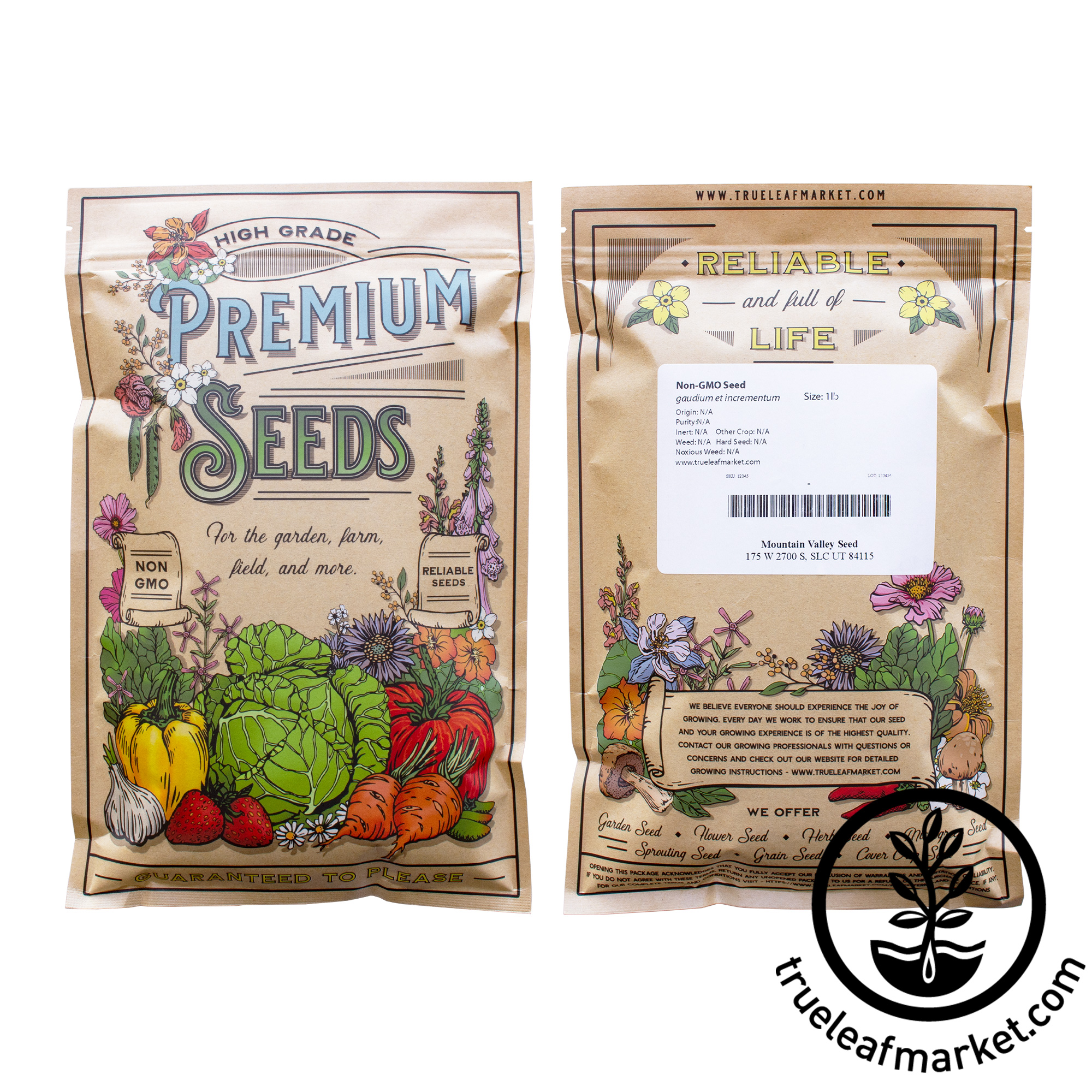 Organic Slow Bolt Cilantro Seeds