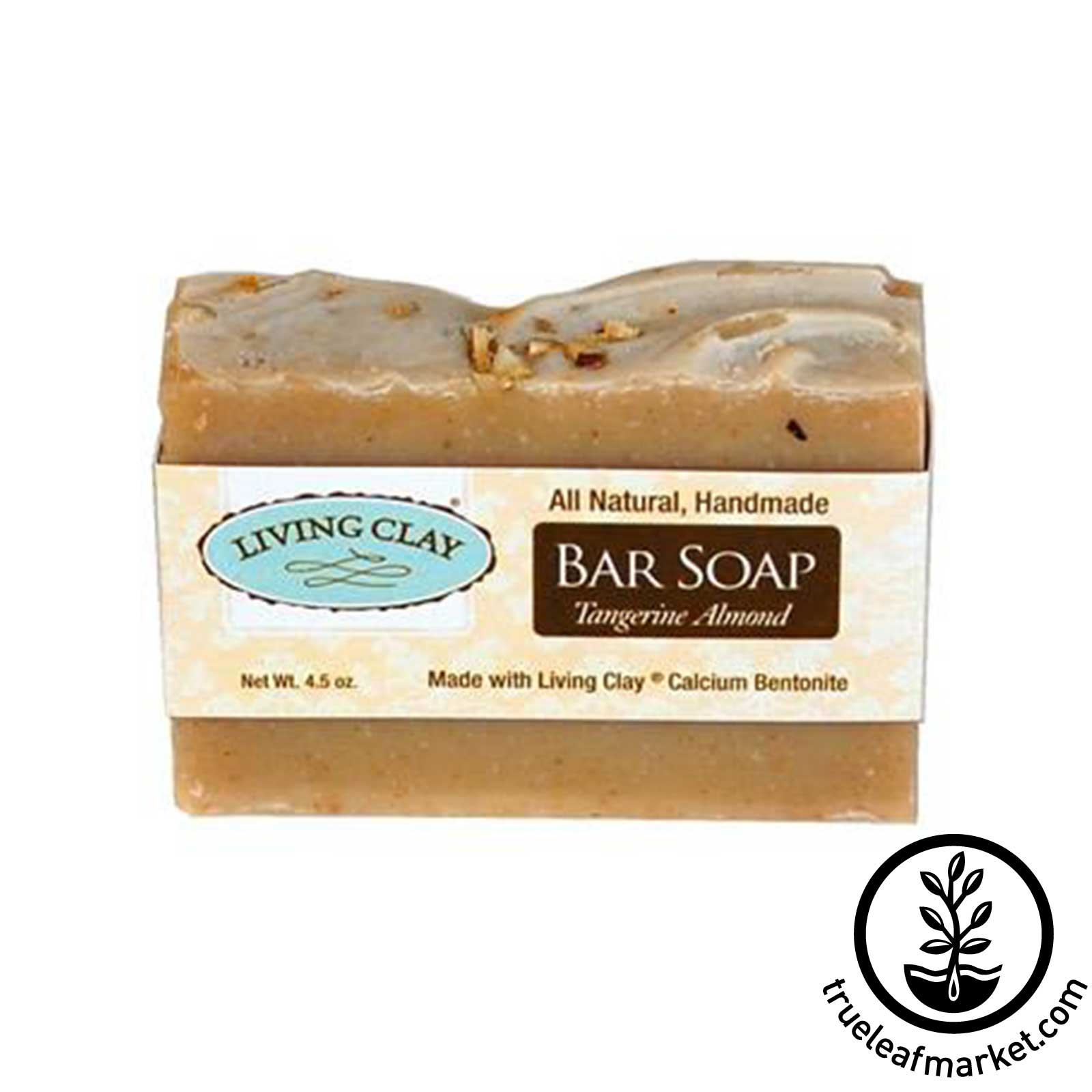 Tangerine Almond & Bentonite Clay Soap Bar