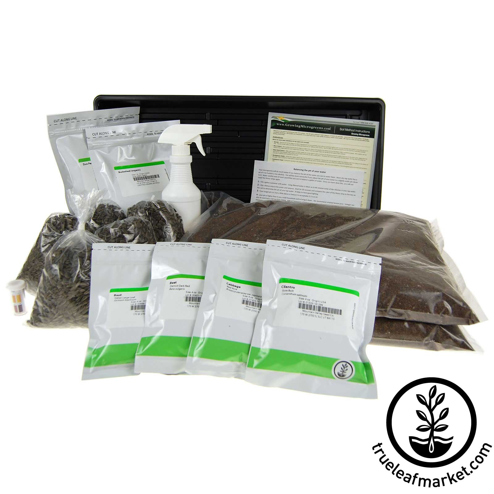 Soil Based Microgreen Starter Kit