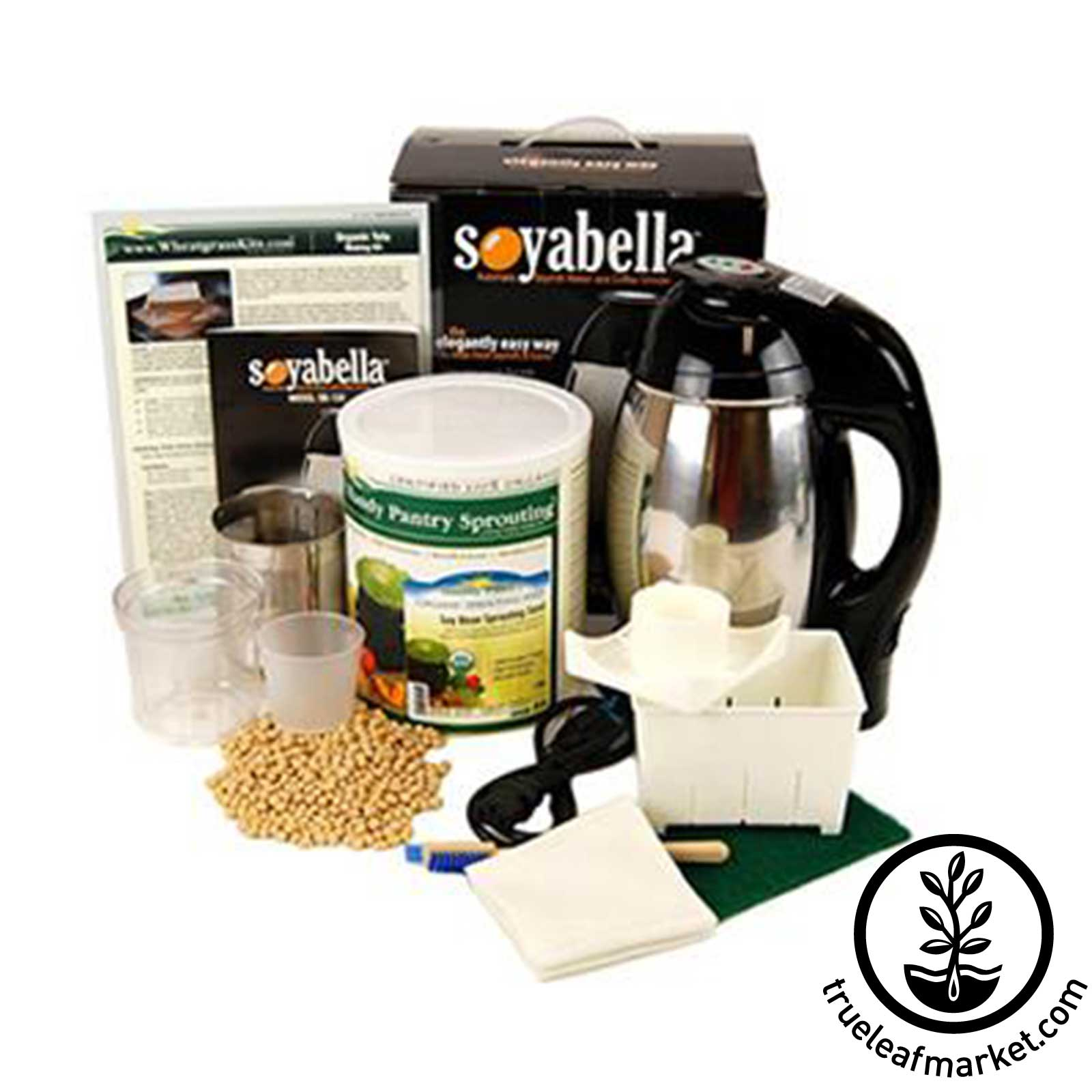 Soymilk & Tofu Making Kit with 5 Lbs Soybeans soytoy, SoyToy, soy milk, soymilk, fresh soy, soy beans, soy milk machine, soyabella