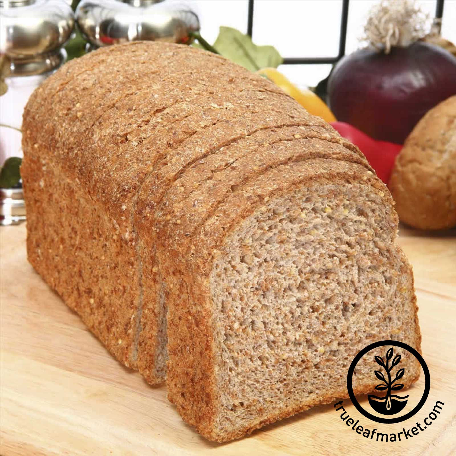 Whole Wheat Sprouted Grain Bread