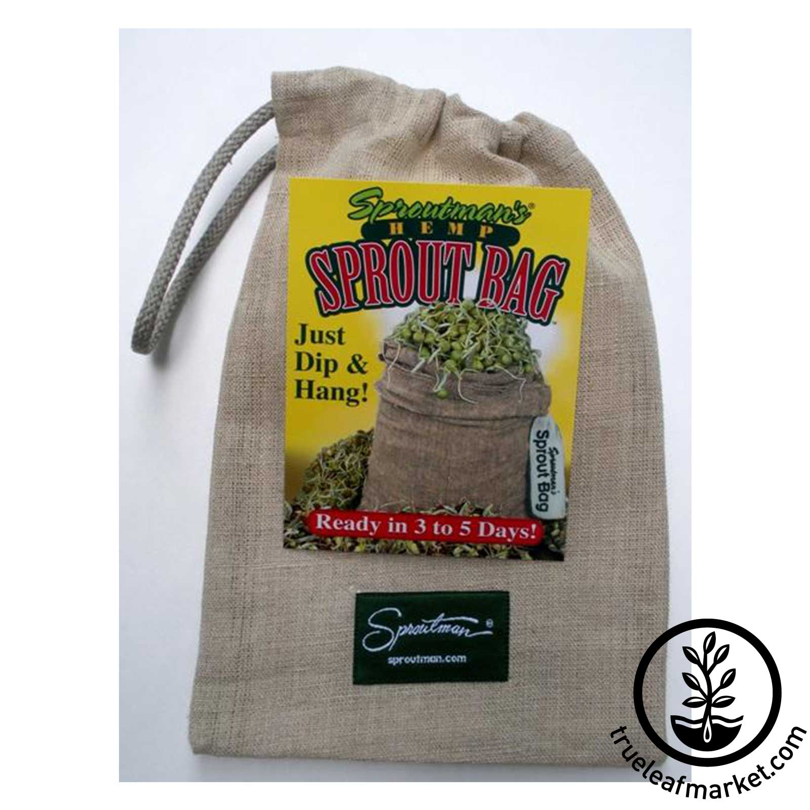 Sproutman Hemp Sprouting Bag - Sprout Sack