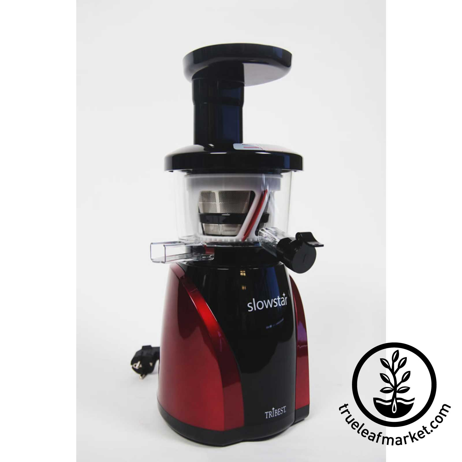 Slowstar Vertical Slow Juicer By Tribest : Tribest Masticating vertical Slow Juicer Model SW-2000