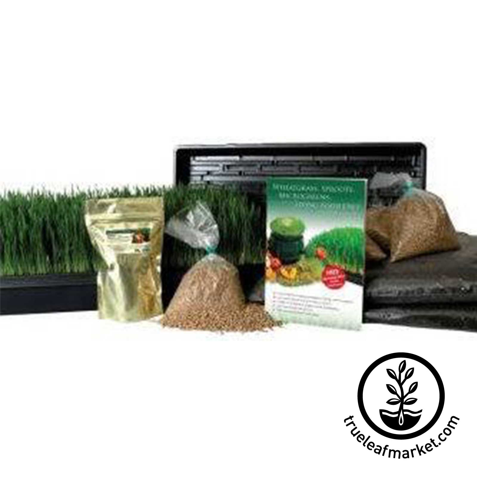 Available with Optional Wheatgrass or Barleygrass Kit
