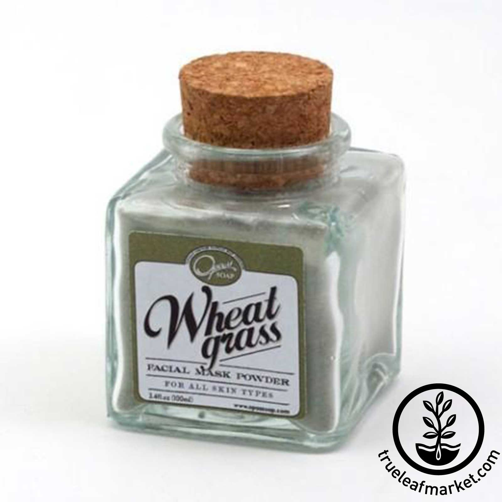 Wheatgrass Facial Mask Powder by Opas Soap