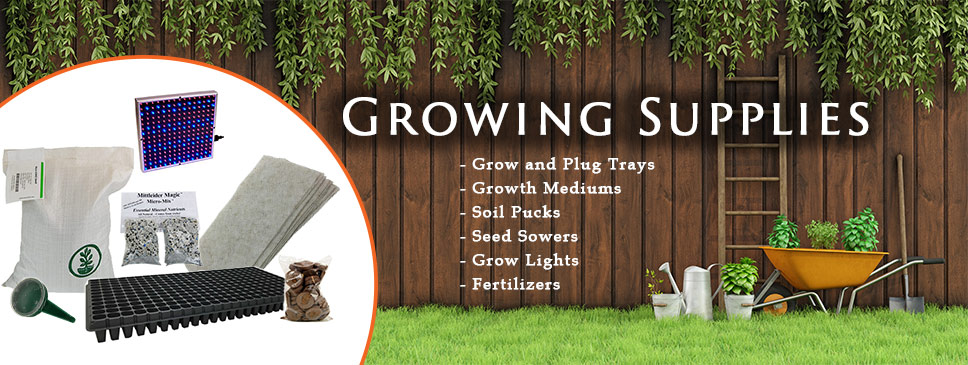 Growing Supplies for your Garden!
