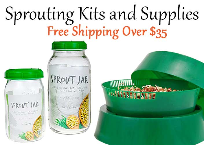 Handy Pantry Sprouters and Supplies!