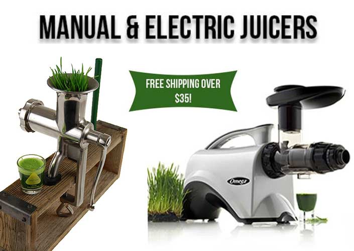 Manual and Electric Juicers